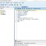 Anlegen einer unverschlüsselten PL/SQL Funktion in Oracle SQL Developer